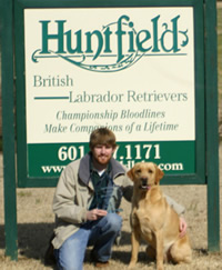 Sage and Trainer Stewart Hoy